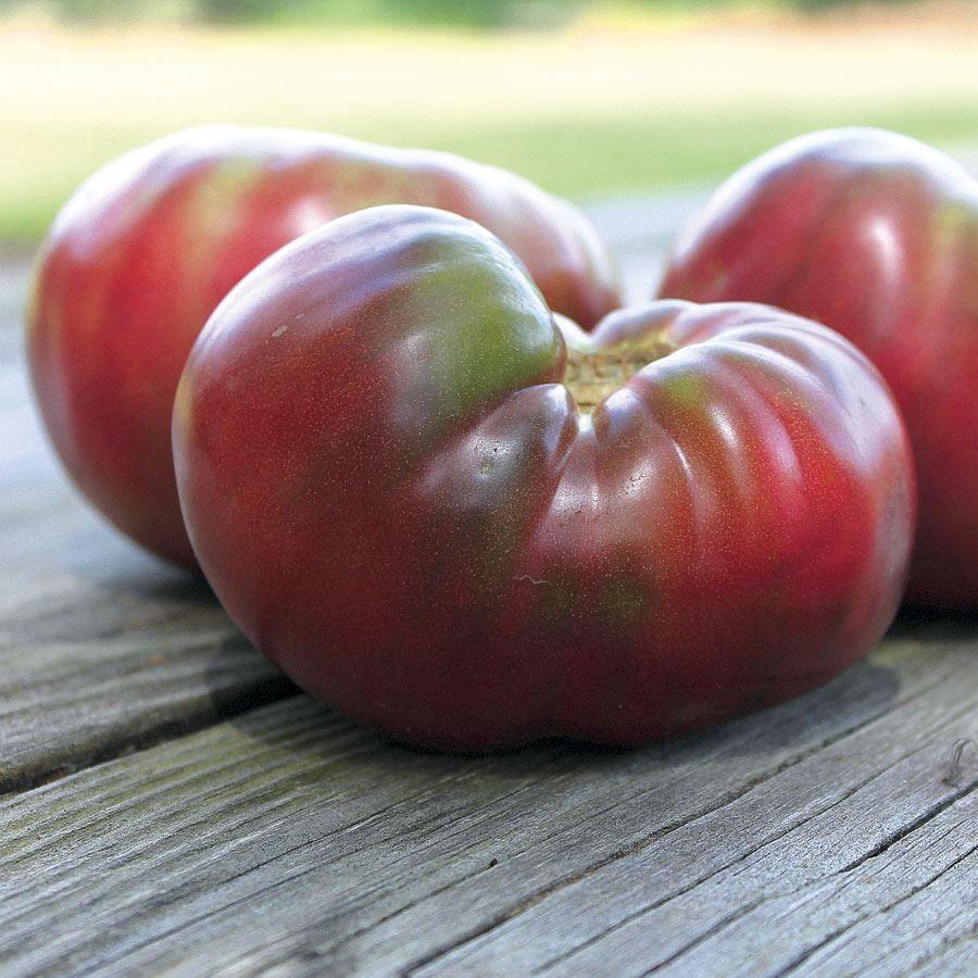 Cherokee Purple Organic Tomato Seeds Image